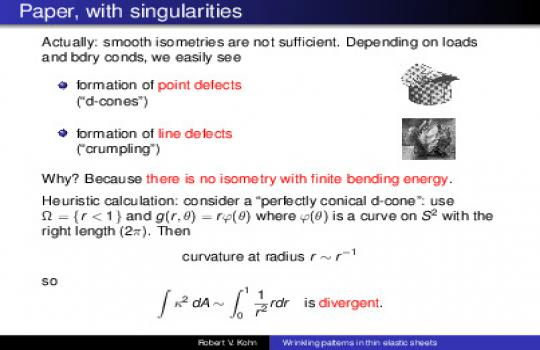 A variational perspective on wrinkling patterns in thin elastic