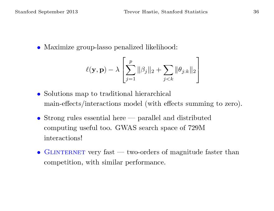 Sparse Linear Models | www mathtube org