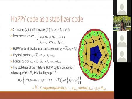 The Infinite HaPPY Code