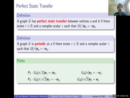 Quantum State Transfer on Graphs